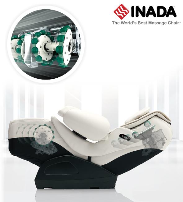 структура на масаж при Inada Duet