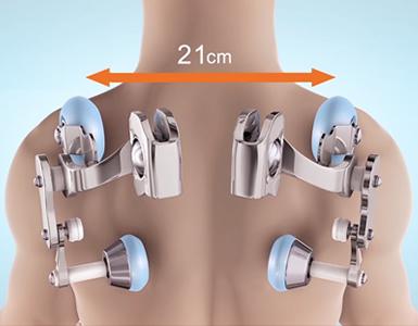 Регулиране на ширината за гърба