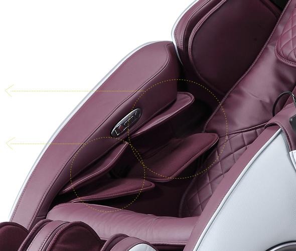Креслото масажира добре ръцете Komoder KM400L
