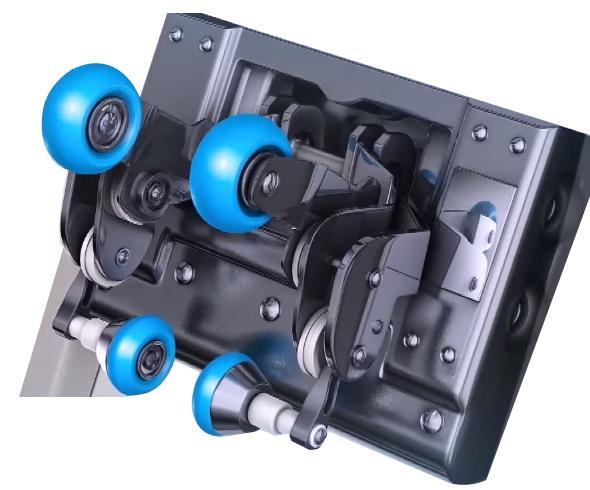 3D ролковa системa