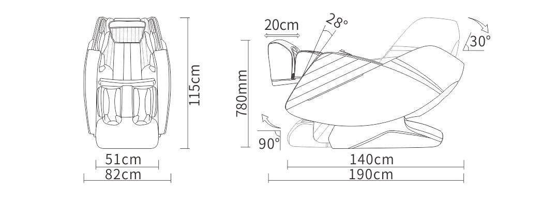 Komoder Marina размери