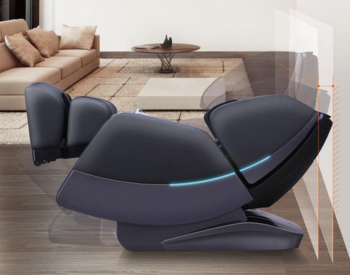 Креслото е оборудвано с интелигентна функция за спестяване на пространство